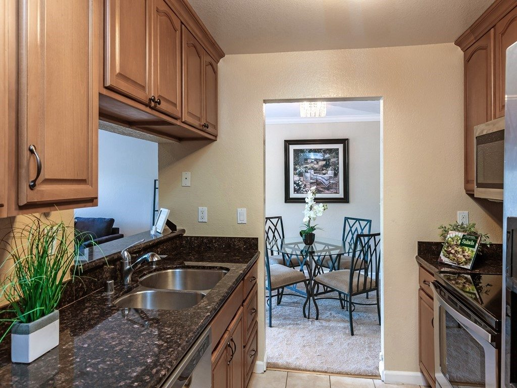 Remodeled kitchen at Murieta in Newark